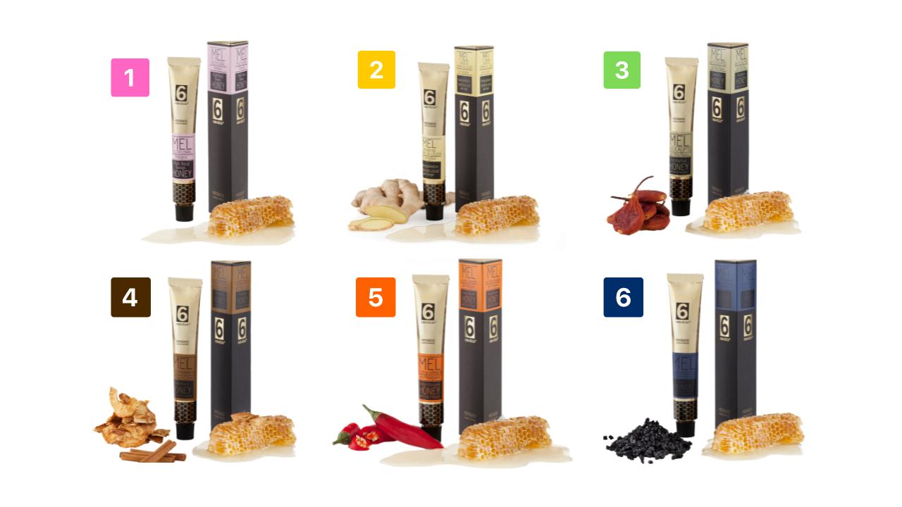 variedades de mel